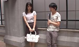 Fabulous Japanese girl Tsukasa Aoi all round Exotic cunnilingus, fingering JAV scene