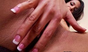 Amazing latina masturbates in their way hotel region Layla Sin 3