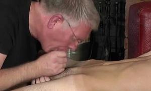 Gay sex Spanking Along to Schoolboy Jacob Daniels
