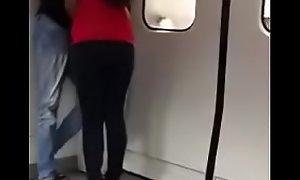 malaysian prop in train
