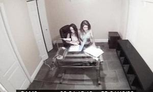 Putrescent on camera teen 3some Jade Nile, Sarai 2 1