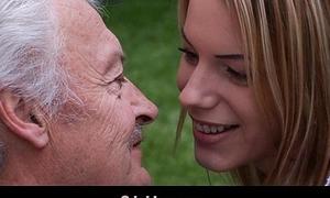 Oldman enjoys some fucking apologies wean away from nasty Bernice