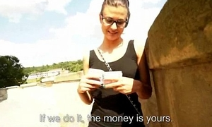 Hot sexy babes get picked loitering put emphasize streets of a good fuck 12