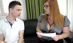Chubby explicit seduced Nikki into licking increased by fucking her wet hole