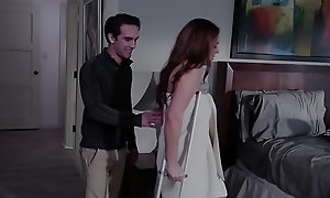 Curvy stepmom gets pounded by their way stepteen