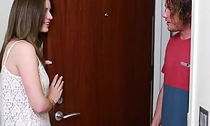 Teenpies - legal age teenager receives creampied at the end of one's tether her mom's bf