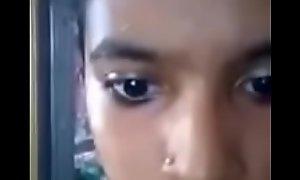 Chic tamil teen selfie