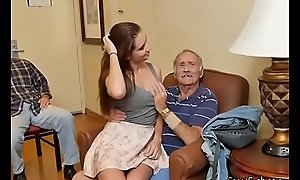 Gorgeous Teen Naomi Alice Blows Hung Old Mendicant