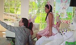 Innocent Teen Birth's Pascua Bunny Fucking: Full HD FamilyStrokexxx porn movie