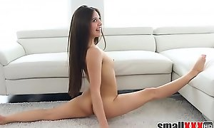 Little Latina Teen Gymnast Step Wet-nurse Fucked By Step Kin In Family Room