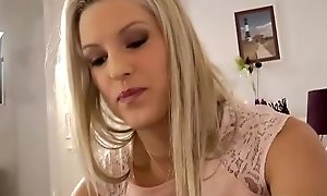 Teen nylons brit receives eaten out