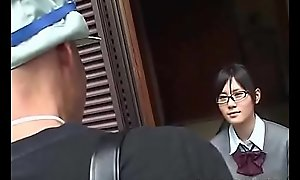 Jav Teen w. Glasses vs Repairman / Handyman ( deputize or cypher pls?)