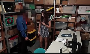 Shoplyfter - Cute Legal age teenager Fondled added to Screwed