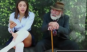 RealityKings - Teens Have a crush on Huge Cocks - (Abella Danger) - Bus Bench Creepin
