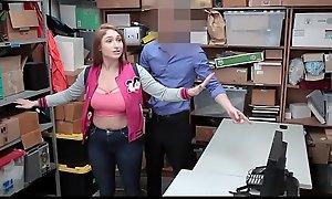 Shoplyfter - Busty Teen Fucks Bobby and Nurturer Watches