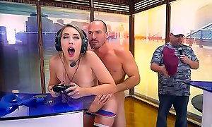 Brazzers - Teens Like It Beamy - Two Can Play That Game scene starring Kimber Lee and Sean Lawless