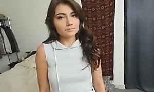 Teen babe Aspen Reign get s blackmailed away from stepbrother