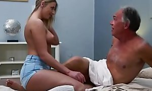 Comme ‡a Teen Fucked By Perishable Papa she likes getting making love blowjobs and cum