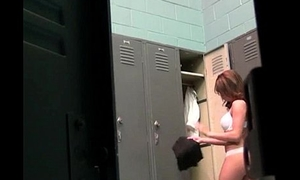 Obese tit kirmess slut fucked connected with the locker room Nicole Aniston.1