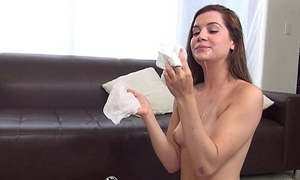 HD - CastingCouch-X 18 Years age-old Kasey is on the very point of be a pornstar