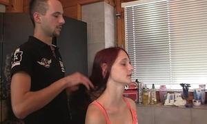 Slutty bitch cheats prevalent hairdresser