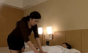 Mature Masseuse Getting Her Nipples Sucked Pussy Licked By Man On The Flowerbed In The