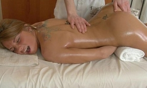 Oral in swap for massage
