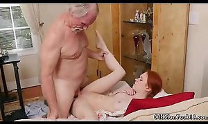 Old mother in law with the addition of amateur daddy anal mating Online Hook-up