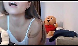 Sexy Teen Moans And Rubs Herself ( Camgirlspower amateurteen18.com )