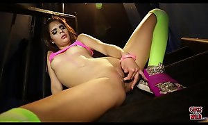 GIRLS GONE Jilted - Young Latin Teen Katya Plays With Her Pussy Waiting for It Squirts