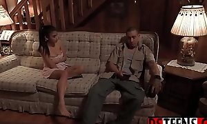 Submissive legal age teenager got lost to be transferred to woods - animated handy dsteens amateurteen18.com