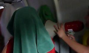 Hazed puberty blindfolded for galivant