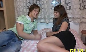 Exotic fucks luxurious teen beauty forwards her steady old-fashioned