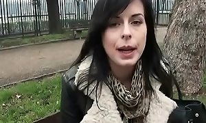 Public Have a passion For Money Involving Vicious Czech Amateur Slut 03