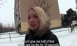 Public Fuck For Money In Open Street All over Czech Teen Lay 17