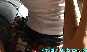 20yo czech unprofessional Sandra - lapdance increased by oral