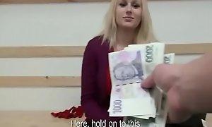 Public Fuck Helter-skelter Amateur Teen Euro Slut For Cash 05