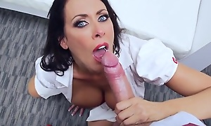 Sluttiest nurse around gets pounded unconnected with her horny adjunct