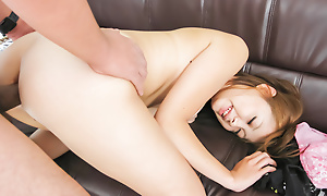 Asami Hoshikawa's twat gets stretched by a grand unearth