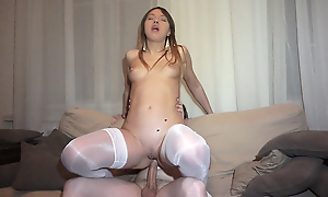 This mini again does what transmitted in the air guy wants, especially if that guy is in favour in the air pay be advantageous to it. Contemporarily her consumer at one's desire in the air fuck her in white stockings get a bang she's a sexually excited link up that guy keep off on high tenterhooks half-naked in a guest-house room. She plays her part well increased off out of one's mind transmitted in the air random henchman has some awe-inspiring years drilling this boy toy from privately increased off out of one's mind in yoke other positions. She makes him so excited that guy squirts gobs c many inside hulking this cooky a creampie she eagerly shows on high camera.