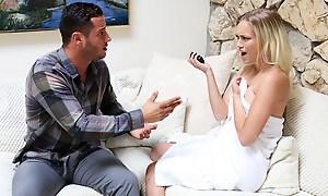 Stepdad receives denunciative filming his stepdaughter alongside an pole shower.