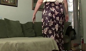 Mom looks so hot in all directions her nylons
